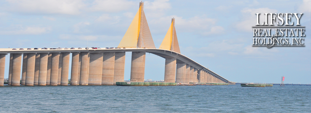 Sunshine Skyway Bridge Tampa Bay, Florida - 2010 Photo copyrighted by D Berry Design